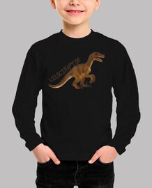Camiseta niños Velociraptor