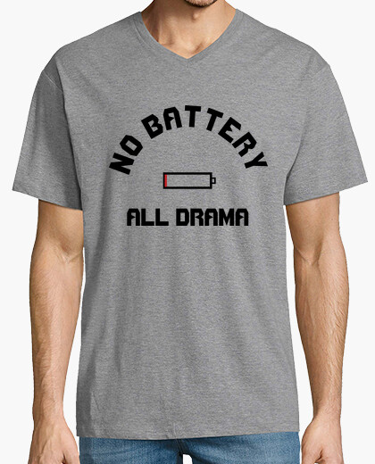 Camiseta No Battery