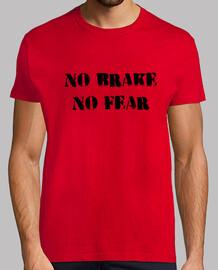 Camiseta No brake, no fear (black)