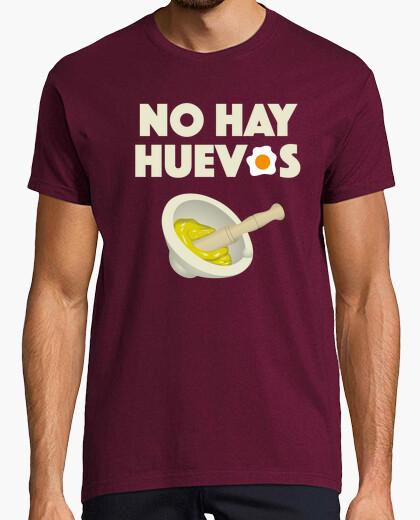 Camiseta No hay huevos
