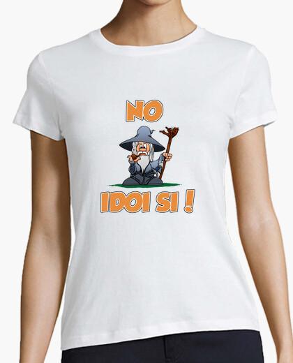Camiseta No Idoi Si (Dona)