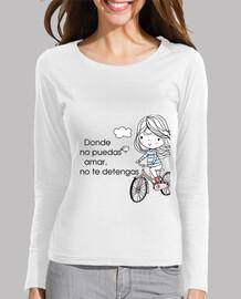 Camiseta no te detengas