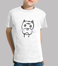 Camiseta Noñ@s Gato 5