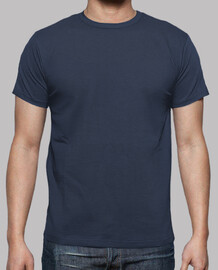 Camiseta normal básica denim