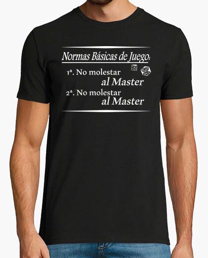 Camiseta Normas Master RPG