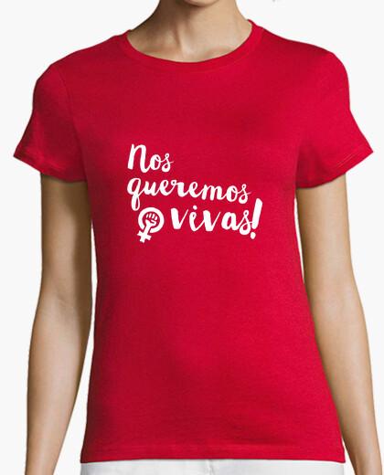 Camiseta Nos queremos vivas!
