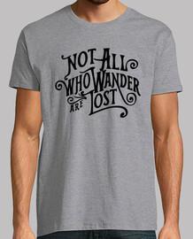 Camiseta Not lost