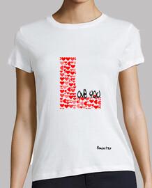Camiseta Novata en el Amor