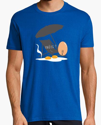 Camiseta nudista