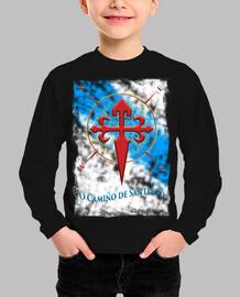 Camiseta O Camino Santiago Galicia
