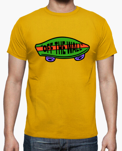 Camiseta off the wall