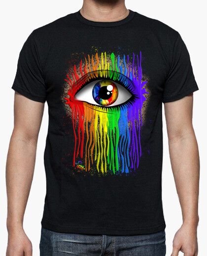 Camiseta OJO ARCOÍRIS