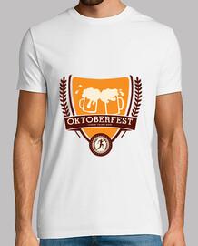 Camiseta Oktoberfest blanca