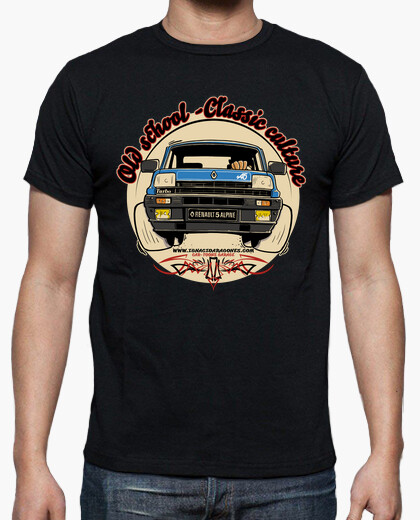 Camiseta OLD SCHOOL-CLASSIC CULTURE R5 alpine