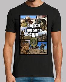 Camiseta Omega Airsoft Club GTA style