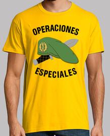 Camiseta Operaciones Especiales mod.4