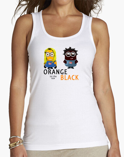 Camiseta Orange is the new black tirantes