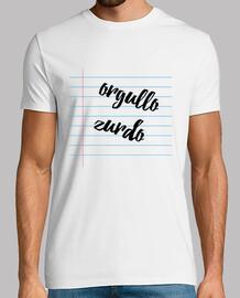 Camiseta Orgullo Zurdo