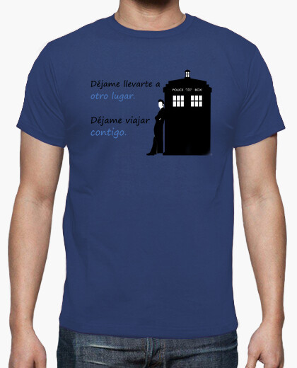 Camiseta 'Otro lugar', CheveDoctor Who
