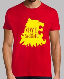 Camiseta 'Oye mi spoiler' - Juego de Tronos