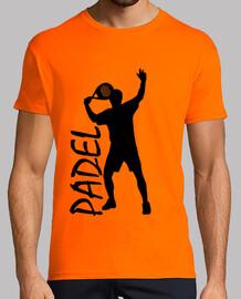 Camiseta padel hombre