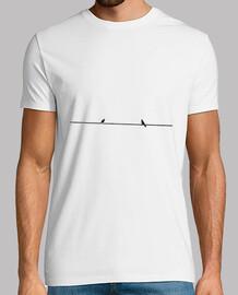 Camiseta Pájaros charlando