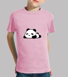 camiseta panda kawaii para niño
