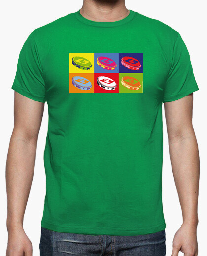Camiseta Pandeiros pop art