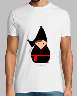 Camiseta Paquiño. Hombre