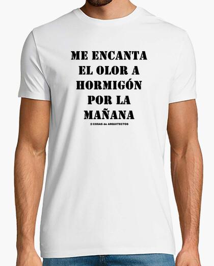 Camiseta para arquitectos - Hormigón black - Cosas de Arquitectos