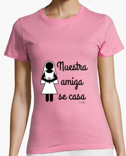 Camiseta para chicas Nuestra amiga se casa