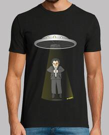 Camiseta para chicos de Iker Jimenez abducido