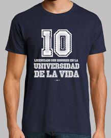 Camiseta para chicos de Licenciado con honores en la universidad
