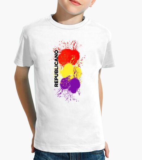 Ropa infantil Camiseta para el pequeño republicano (spray)