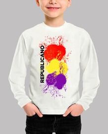 Camiseta para el pequeño republicano (spray)