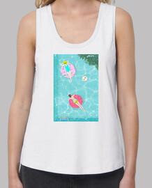 camiseta para el verano