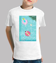 camiseta para el verano de niño