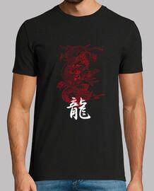 camiseta para hombre dragón