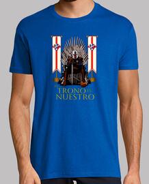Camiseta para hombre SDHuesca El Trono es Nuestro, varios colores