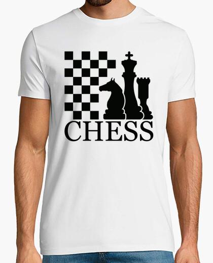 Camiseta para jugadores amantes del Ajedrez
