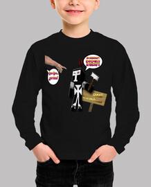 Camiseta Para Los Pequeños Minecraft Dios