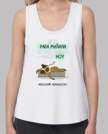 Camiseta para los perezosas por naturaleza