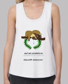 Camiseta para los perezosas que se duermen en los laureles