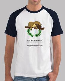 Camiseta para los perezosos que se duermen en los laureles
