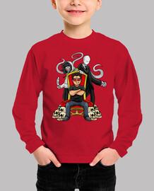 Camiseta para niñ@ del trono de youman