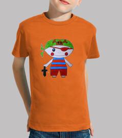 Camiseta para niño diseño