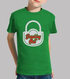 Camiseta para niño Juego de escape