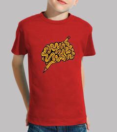 Camiseta para niño o niña Creatividad