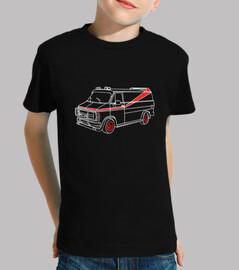 Camiseta para niño o niña Equipo A