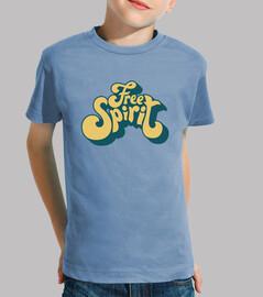 Camiseta para niño o niña Free Spirit